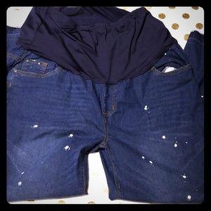 Denim - Never Worn Maternity Jeans